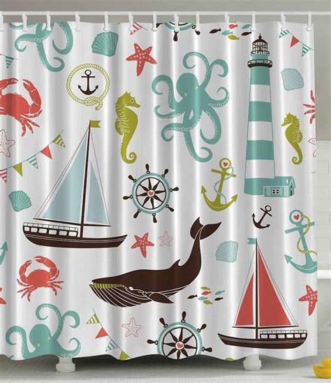 nautical bathroom curtains best 25 nautical shower curtains ideas on pinterest