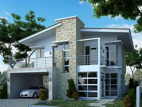 modern two storey house with streamline roof modern two storey house with streamline roof 28 images