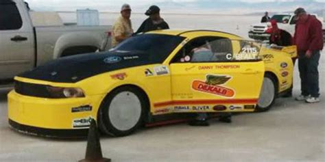 fastest stock mustang kenne bell world s fastest stock mustang 272 mph