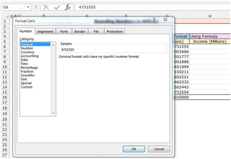 format excel into millions rounding numbers to millions in excel microsoft excel