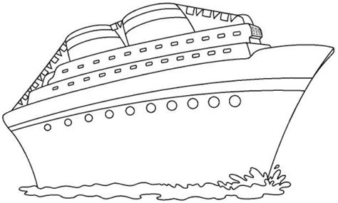 Cruise Ship Coloring Pages Cruise Ship Coloring Page