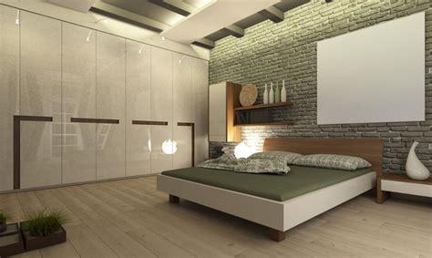 minimilist bedroom minimalist bedroom brick wall