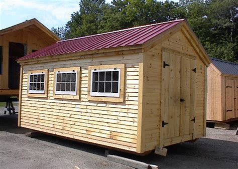 10 X 16 Wood Shed Kit With Floor - gable sheds storage shed kits for sale shed with windows