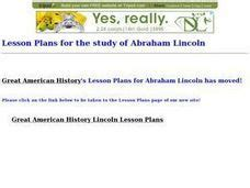abraham lincoln biography lesson plan abraham lincoln his life speeches and writings 6th