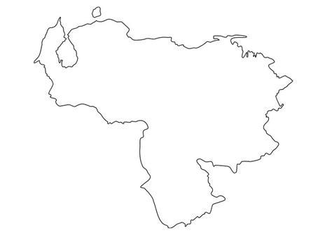 imagenes de venezuela para colorear dibujo para colorear mapa de venezuela img 19224
