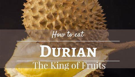 eat durian taste  thailand