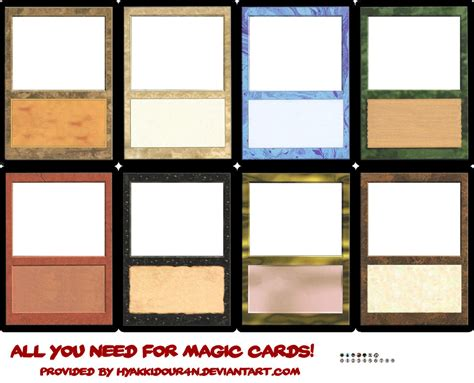 larp item card template magic cards templates by hyakkidour4n on deviantart