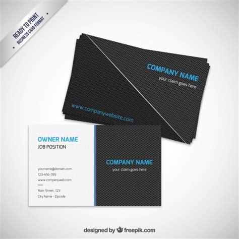 Moderne Visitenkarten Vorlage Moderne Visitenkarte Vorlage Der Kostenlosen Vektor
