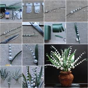 Diy Home Decor Craft Ideas by How To Make Lily Of The Valley Step By Step Diy Tutorial