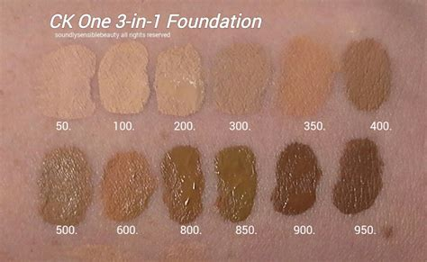 Eloise Gold Miracle Liquid Gell 5 calvin klein 3 in 1 foundation review swatches of shades
