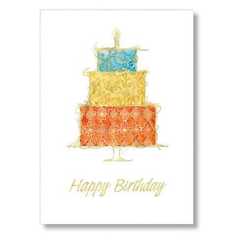 In Birthday Cards Fancy Birthday Cake Birthday Card