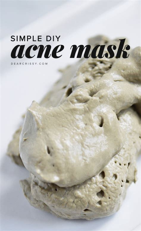 diy mask recipes 11 easy and effective diy recipes that ll make your acne disappear in no time fashionsy