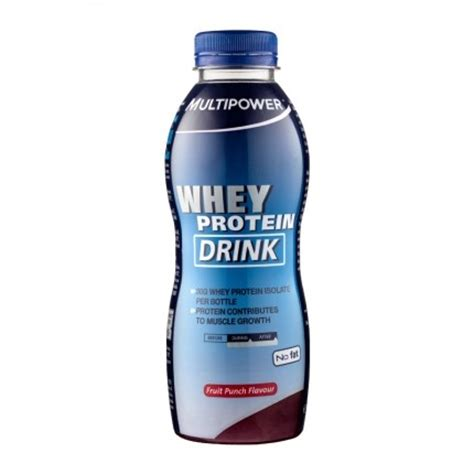 protein drinks for multipower whey protein drink fruit punch for