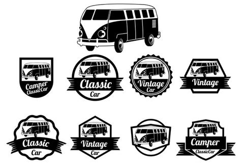 Tshirt Vw Logo Exclusive vw cer vector badges free vector stock