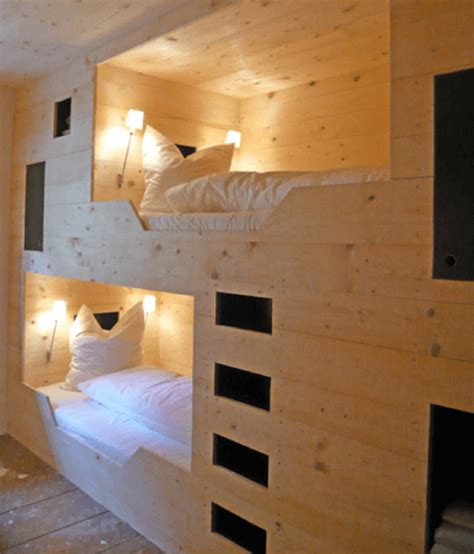 built in bunk bed 11 modern bunk bed designs apartment geeks
