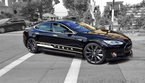 Tesla S Acceleration Tesla P85d Car Show Tv