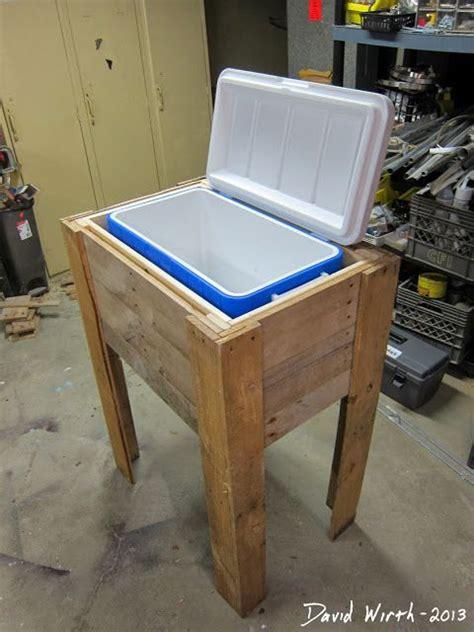 Wood Deck Cooler Plans