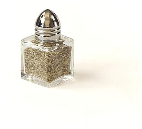 Blouse Shaker 572 mini salt pepper shaker glass
