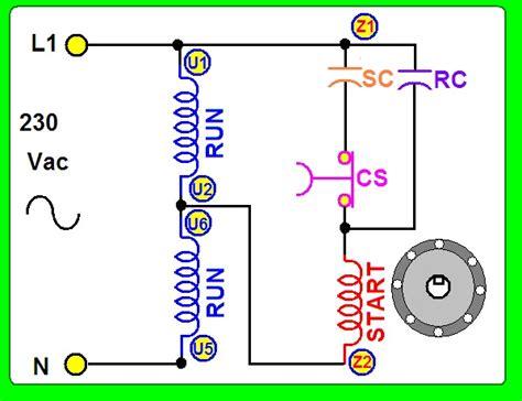 motor monofasico capacitor permanente coparoman motor monof 225 sico con 2 capacitores