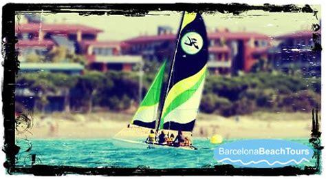 catamaran day trip barcelona catamaran sailing trips and rentals barcelona
