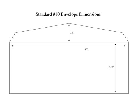 number 10 envelope template number 10 envelope template business template