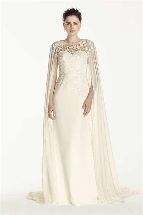 Wedding Dress With Cape a statement trend 19 amazing wedding dresses with capes