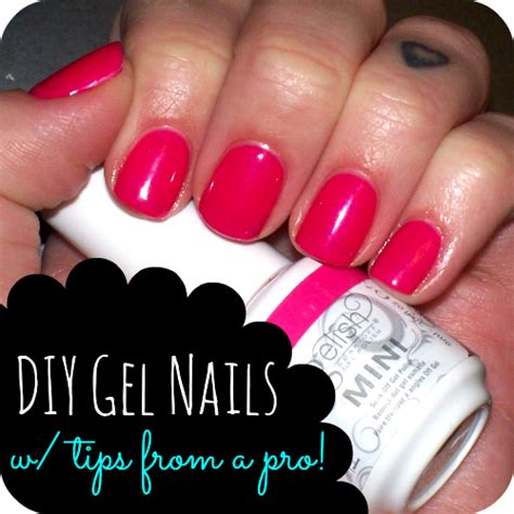 diy gel nails at home