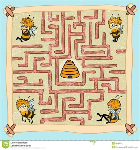 home design story jeux jeu de labyrinthe aidez une des abeilles 224 trouver leur