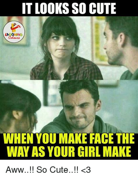 So Cute Meme Face - 25 best memes about cute laugh cute laugh memes