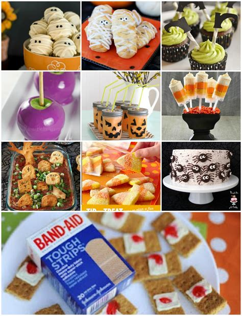 party food halloween party food