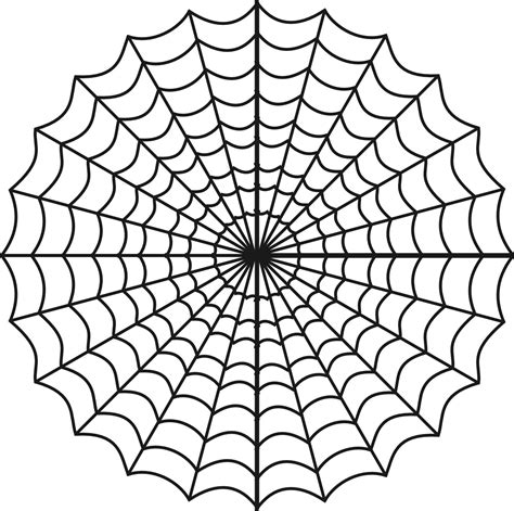printable coloring pages free printable spider web coloring pages for