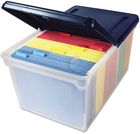 AVT55797 Plastic Storage Bins with Lids   OnTimeSupplies
