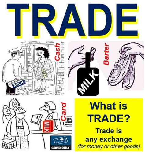 what does in excess mean when buying a house what does trade mean definition and meaning uk