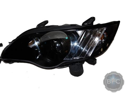 subaru legacy headlights 2008 subaru legacy gt black chrome custom painted