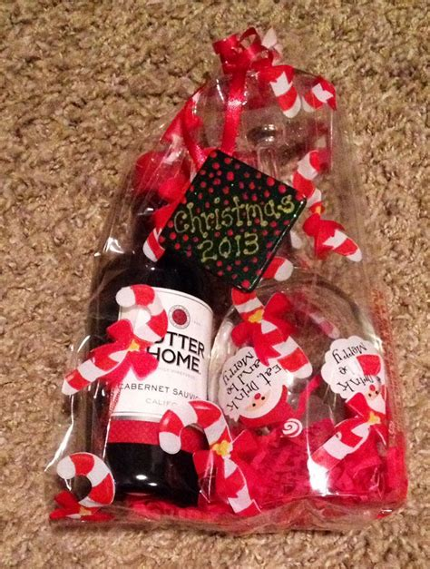 christmas employee gifts wine glass dollar store sutter