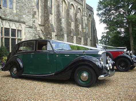 Classic Bentley Wedding Car Bentley Mkv1 Wedding Hire In