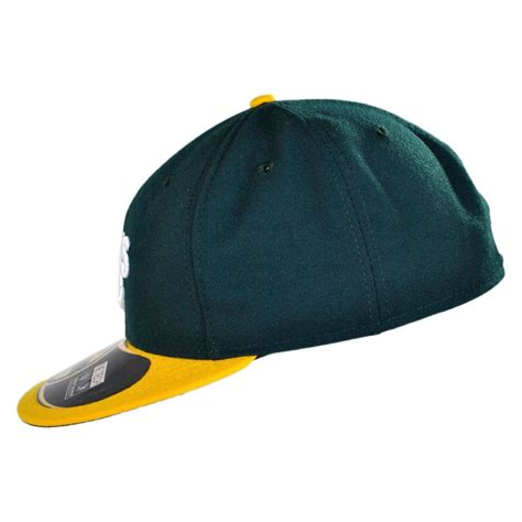 new era oakland athletics mlb home 59fifty fitted baseball