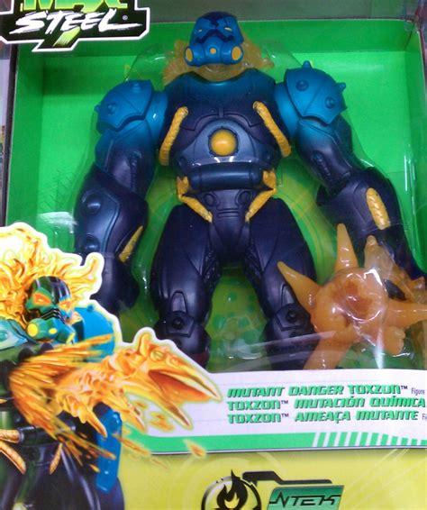 n tek figure mattel max steel n tek adventures mutant danger toxzon