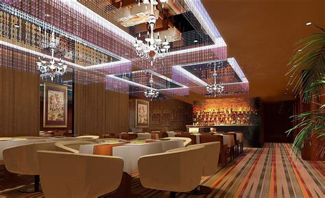 rendering luxurious ceiling and lighting design for