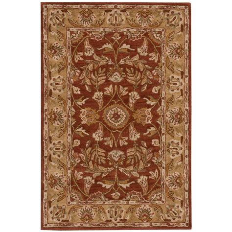 2 x 3 accent rugs nourison overstock india house rust 2 ft x 3 ft accent