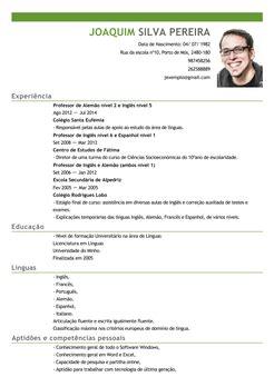 Modelo Curriculum Vitae Em Portugues Modelo De Curriculum Vitae Em Portugues Word Modelo De Curriculum Vitae