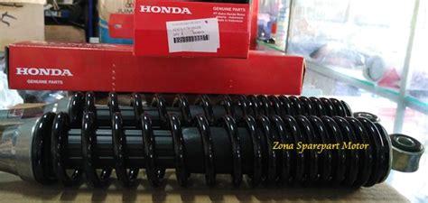 Shock Belakang Supra X Supra Fit Ahm Asli Ori jual shock skok belakang ahm ktm supra x 125 kharisma zona sparepart motor