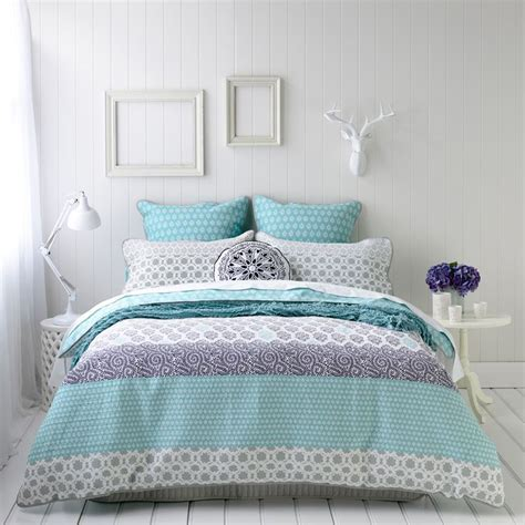Mercer And Reid Bed Linen - mercer and reid azure new colour scheme pinterest round cushions quilt cover and bed linens
