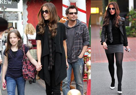 The Beckhams Date With Kate Len by Photos Of Kate Beckinsale Shopping In La With Len Wiseman
