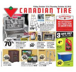 Canadian Tire Trail Flyer Canadian Tire Flyer Oct 12 To 18 Canadian Tire Flyers