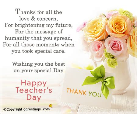 thank you letter for teachers day teachers day 2017 history gift ideas