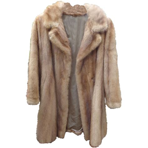 L 842 Transparent Top Bottom Costume gorgeous mink fur coat from broadway singer