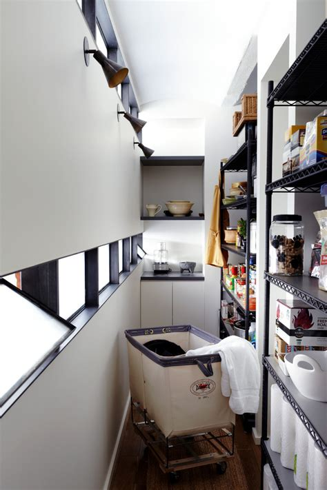 glamorous rolling laundry basket  kitchen contemporary