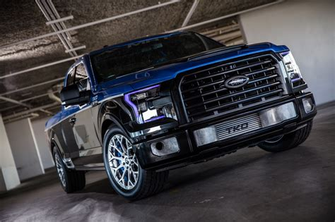 f150 show truck ford f 150 is the truck at the 2015 sema show