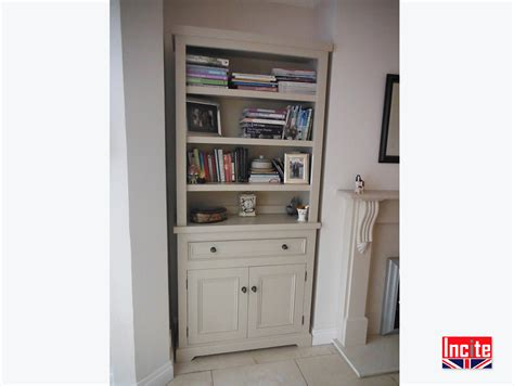Handmade Painted Furniture - handmade by incite painted custom made bookcase cupboards